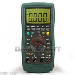 Mastech Ms8226 Auto Range Digital Data Hold Multimeter Dmm Rs232 Cable