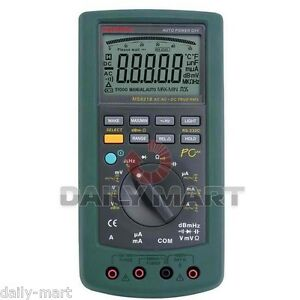 Mastech Ms8218 Auto range Digital Multimeter 50000 Counts 5 1 2 Bit Dmm