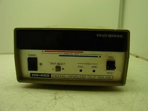 Ono Sokki Dg 450 Digital analog Out Gauge xlnt