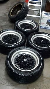 Epsilon 5 X 108 5 X 4 25 16 Inch Wheels And Tires For Ferrari Volvo Jaguar Ford