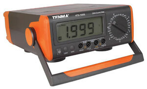 New Tenma Bench top Digital Multimeter Lcd Tester frequency Temperature ac dc