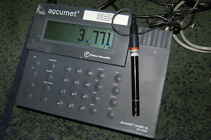 Fisher Accumet 15 Thermo Ph Meter Beckman Electrode 511050