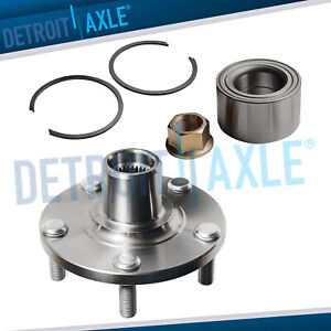 Front Wheel Hub And Bearing Assembly For 02 06 Nissan Altima V6 00 08 Maxima