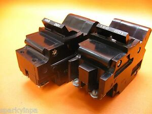 100a Federal Pacific Fpe 100 Amp Main Breaker Bolt on Type Nb Guaranteed