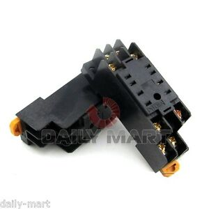 Lot Of 10pcs Omron Pyf08a e Pyf08ae Relay Socket 8 pin For My2nj H3y 2 New