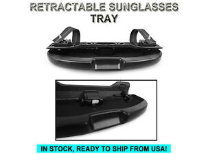 Black Sunglasses Holder Tray Grab Handle Replacement For Bmw E60 E82 E90 E92 E93