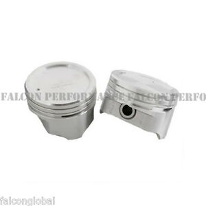 Sealed Power federal Mogul Chevy 400 Cast Dish Top Piston Set 8 1970 80 30