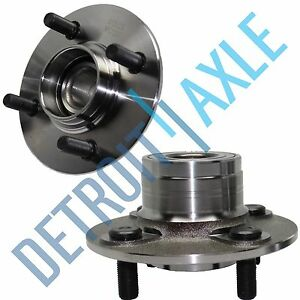 Both 2 New Complete Rear Wheel Hub And Bearing Assembly Fits Nissan Sentra
