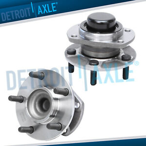Set Of 2 New Rear Wheel Hub And Bearing Assembly For Dodge Caravan Fwd