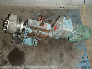 Wisconsin Drill Head 17 Tap Tapping Complete With Spindle And 2 5 Hp Motor