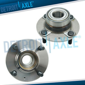 2 New Rear Wheel Hub And Bearing Assembly For Hyundai Elantra Spectra Spectra 5