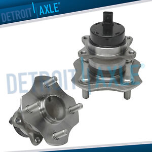 Rear Wheel Bearing Hub Set W Abs For 2000 2005 Toyota Echo 2004 2006 Scion Xa Xb