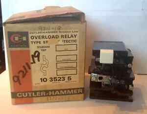 Cutler Hammer Overload Relay 10 3523 5 1035235 Made In Usa new