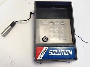 Used Unitrol 9180 cb 000 Solution Control Module Dc