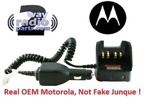 Real Motorola Travel Charger Mototrbo Xpr7550 Xpr3500 Xpr3300 Xpr6500 Rln6433a