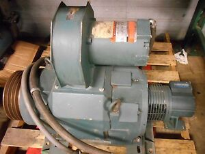 Reliance Elec 2 Speed Rpm Motor Ac 30 Hp 1775 3540 Rpm 40 Amp 460 Volts 60 120