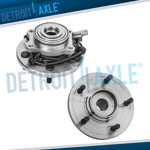 2 Rear Wheel Hub Bearing Assembly For 2004 2005 2006 Chrysler Pacifica W Abs