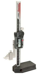 Starrett 0 6 150mm Electronic Digital Height Gage With Output