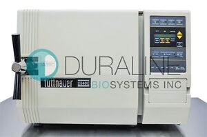Tuttnauer 2540e Autoclave Steam Sterilizer Fully Refurbished 6 Month Warranty