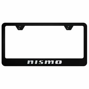 Nissan Nismo Black Stainless Steel License Plate Frame