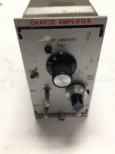 Used Unholtz dickie 122p Charge Amplifier Db