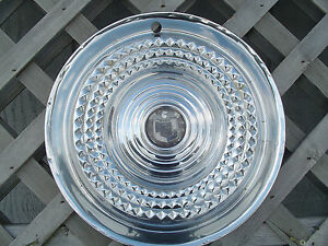 1958 Mercury Turnpike Montclair Monterey Park Lane Hubcap Wheel Cover Antique