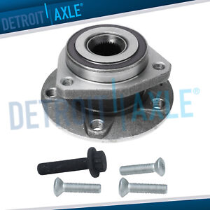 New Front Complete Wheel Hub And Bearing Assembly For Volkswagen Audi A3 W Abs