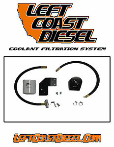 Ford 6 0l Coolant Filtration System By Left Coast Diesel