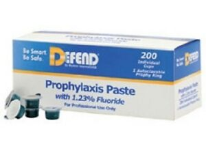 Defend Prophy Paste Medium Grit Mint Flavored With Fluoride 200 box