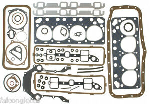 Ford 239 256 272 292 312 Y block Victor Reinz Full Gaskets Set Head intake 54 64