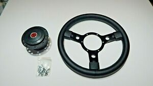 New 13 Vinyl Steering Wheel And Adaptor For Mga Mgb 1963 1967 Made In The Uk