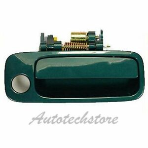 B466 For 97 01 Toyota Camry Front Right Passenger Outside Door Handle Green 6r1