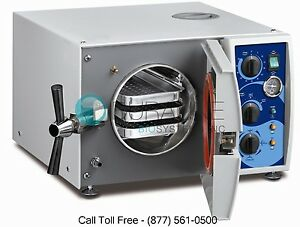 Tuttnauer Valueklave 1730 Autoclave Steam Sterilizer W 1 Year Warranty Brand New