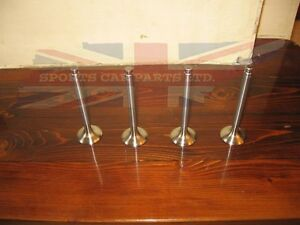 New Set Of Stainless Exhaust Valves For Mgb 1968 1980