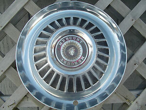 1964 Mercury Marauder Montclair Monterey Colony Park Lane Hubcap Wheel Cover