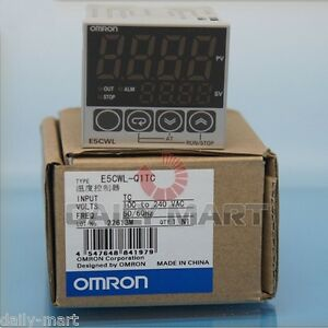 Omron Temperature Controller E5cwl q1tc E5cwlq1tc 100 240vac New In Box Nib