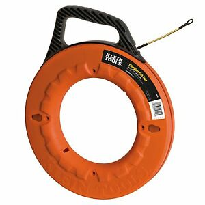 Klein Tools 56009 50 Laser etched Fiberglass Fish Tape New Free Shipping