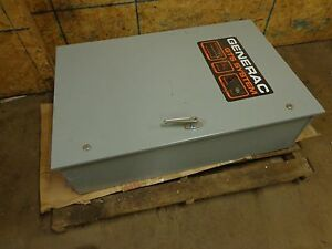 Generac Gts System Transfer Switch 92a02532 w 100 Amp 277 480 Volts 600 Volts