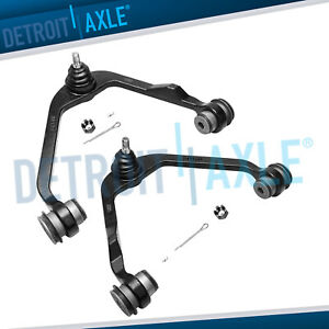Ford F 150 Expedition 2wd Only Pair Front Upper Control Arm Ball Joint Assembly
