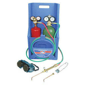 Ez flo 42229 Uniweld Oxyacetylene Welding And Brazing Kit Without Tanks