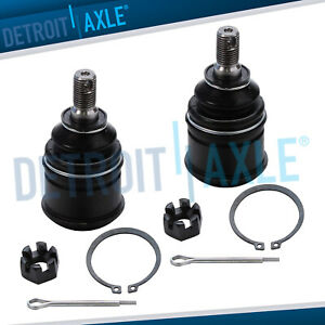 Pair 2 New Front Lower Ball Joint Set For Acura El Honda Civic Cr V