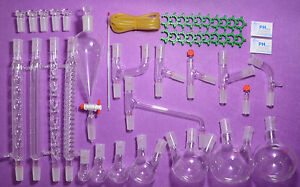 Top Advanced Organic Chemistry Lab Glassware Kit 24 40 lab Glassware Kit 24 40