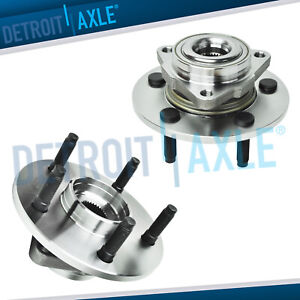 2 Front Wheel Bearing Hub 2002 2003 2004 2005 2006 2008 Dodge Ram 1500 No Abs