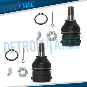 Pair Front Driver And Passenger Lower Ball Joints Set For Nissan 200sx Sentra Nx