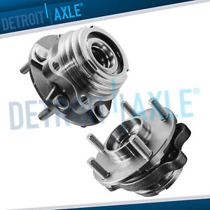 2pc Front Wheel Hub Bearing For 2007 2008 2009 2010 2011 2012 Nissan Altima 2 5l
