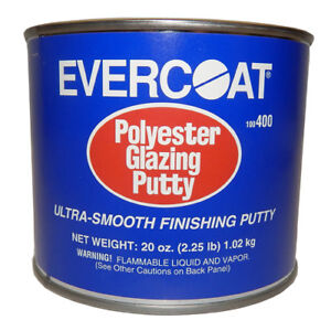 20 Oz Evercoat Polyester Glazing Auto Body Putty 400 Ultra Smooth Finishing