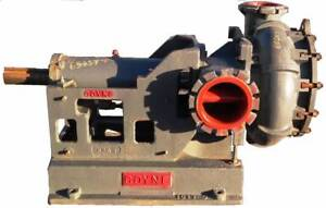 Remanufactured Goyne 8x10 Slurry Pump In Ductile Iron 2500gpm At 123tdh 65257