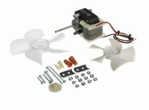 Universal Fan Replacement Electric Motor Kit With 2 Fan Blades 115 230 Volts