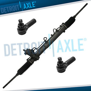 Power Steering Rack And Pinion 2 Outer Tie Rod End For Escape Tribute Mariner