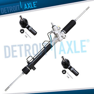 Power Steering Rack And Pinion 2 New Front Outer Tie Rod For Toyota Sienna
